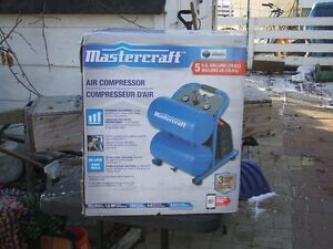 mastercraft 5 gallon air compressor