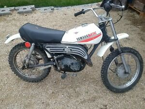 TWO 1982 Trail 80 Yamahas
