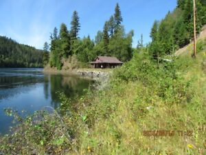 12.41 ac Lake Front Home Quesnel Lake