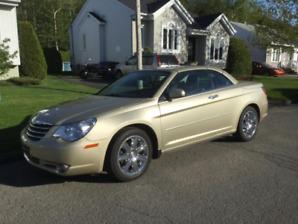 Chrysler Sebring Limited Convertible 2010