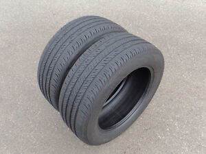 Pair of 235-55R17 Continental tires