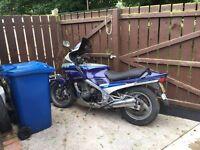 Yamaha FJ motorbike
