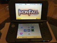 New Nintendo 3DS XL black 2 months old