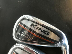 "COBRA GOLF KING OS IRONS ""NEW"" 4iron thru GW many sets"