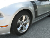 mustang gt polished aluminum wheels/rims/tires REDUCED