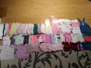 Baby girls clothing 6m - 9m (Alot of clothes)
