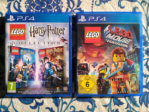 Lego Harry Potter Lego Movie videogame PS4