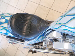 Custom Leather Motorcycle Seats and Accessories...