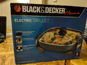 New Black & Decker 12-Inch Electric Skillet