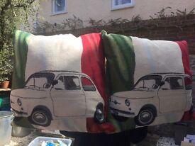 Fiat 500 cushions