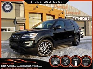 Ford Explorer SPORT, 4WD, MAG 20 P, GPS, CUIR, TV DVD 2017