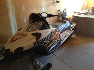 2 Great Running Sleds and Trailer Package