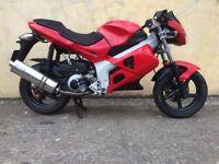 2003 GILERA DNA 180 RED 12 MONTHS MOT SCORPION EXHAUST