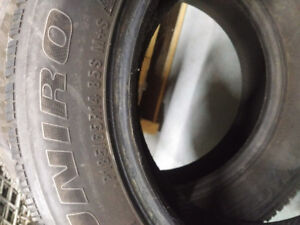 Uniroyal tires 185/65R14 Tiger Paw winter