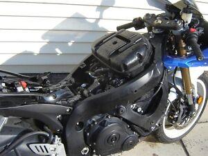 2008 Suzuki GSXR  600   for  parts only     5500 km