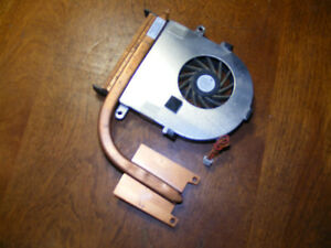 Toshiba Satellite A100 CPU Cooling Fan and Heat Sink