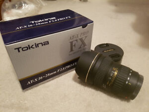 Tokina 16-28mm 2.8 for Canon