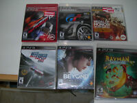Neuf PS3 JEUX playstaion 3 games