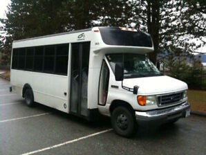 24seats tour bus 2007 ford e450 for sale