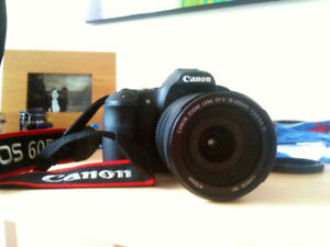 Canon 60D DSLR Camera with EFS 18-200 Lens