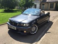 2005 BMW 325Ci M-Sport Convertible Automatic*FSH*MUST VIEW*NOT GOLF GTI FOCUS ST AUDI