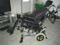 Tilting Wheel Chair  ( REDUCED !!!!!!!! )