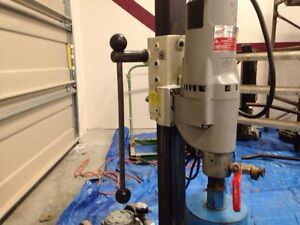 Diamond core drilling rig,, reduced to $1100.00