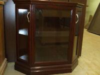 Curio Cabinet at Delton Cabinets