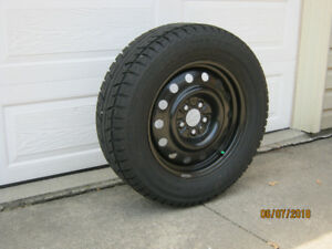 Winter Tires (4) P235/65r17 on Steel Rims fit 2014 Ford Edge
