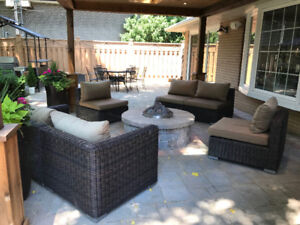 Outdoor Patio Sectional (South Beach)