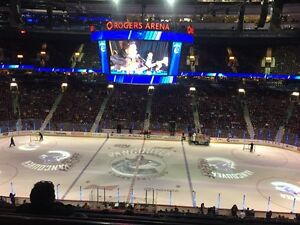 Canucks vs Los Angles Kings @ CENTRE ICE!
