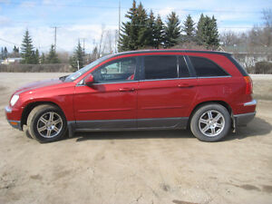 2007 Chrysler Pacifica leather SUV, Crossover