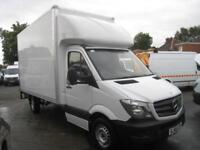 2016 REG Mercedes-Benz Sprinter LUTON WITH TAILIFT EXTRA HI ROOF
