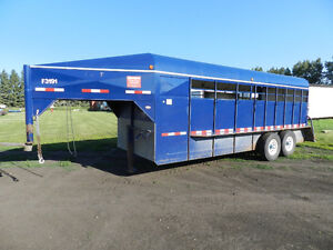 2008 King of the Road 20' Stock Trailer