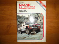 Nissan 720 Pickup Truck  1983 - 1986 Shop Manual Z20 Z24 2WD 4WD