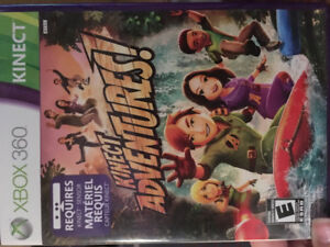 XBOX 360 Kinect Adventures game, never been used!
