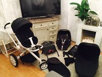 Quinny Moodd Pushchair, Car Seat and Travel System