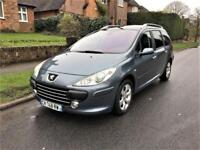 2006 Peugeot 307 SW 2.0 HDi SE PANORAMIC ROOF LHD + LEFT HAND DRIVE