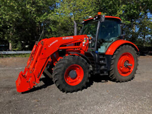 2017 Kubota M7-171P-KVT Tractor With Loader