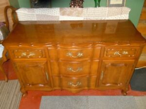 A Beautiful Cherry Wood Buffet