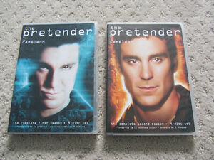 Season 1 and 2 of The Pretender on DVD