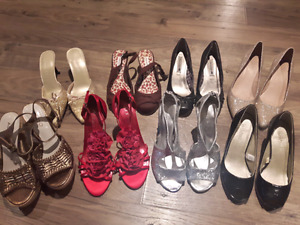 Lot of 8 Aldo/Le Chateau/American Eagle heels