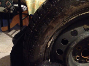 from toyota celica 2001 winter tires and rims Kitchener / Waterloo Kitchener Area image 4