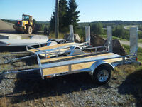 Galvanized Utility Trailers