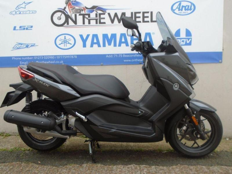 2017 yamaha x max 125 abs stonehenge grey brand new in brighton east sussex gumtree. Black Bedroom Furniture Sets. Home Design Ideas