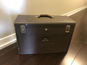 Kennedy vintage Machinist tool box chest