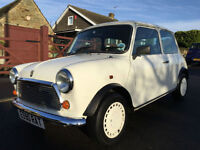 1987 AUSTIN MINI 1.0 ADVANTAGE LIMITED EDITION 2DR WHITE