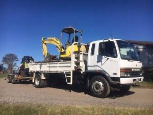 For sale 5T combo excavator Posi and truck Redland Bay Redland Area Preview