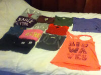 women/ teen clothing lot s-m