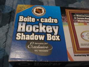 Toronto Maple Leafs Hockey Nostalgic Shadow Box